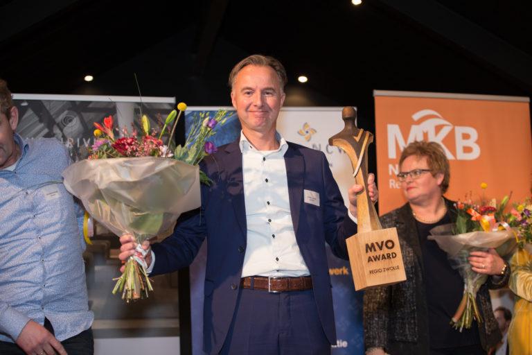Biohorma BV winnaar MVO Award Regio Zwolle 2017